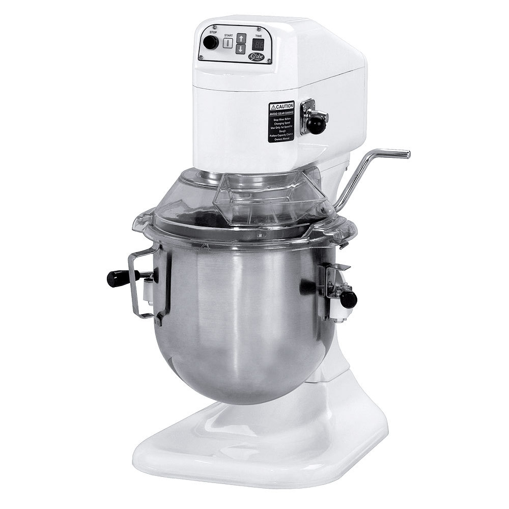 Globe sp8 gear driven 8 qt commercial stand mixer for Stand commercial