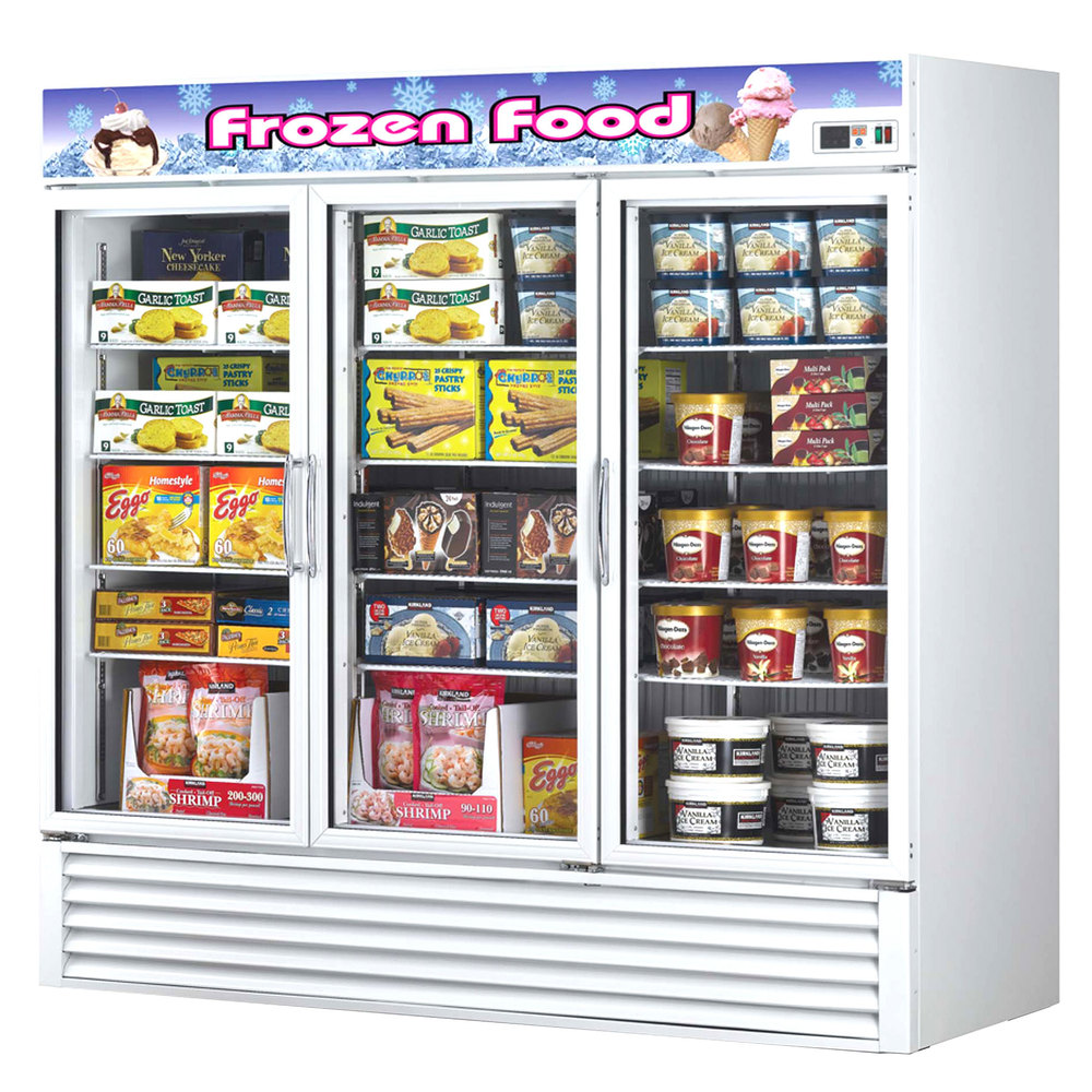 Turbo Air Tgf 72f 82 Three Glass Door Reach In Merchandising Freezer 72 Cu Ft Commercial Express Limitedcommercial Limited